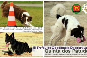 III Troféu de Obediência Desportiva da Quinta dos Patudos